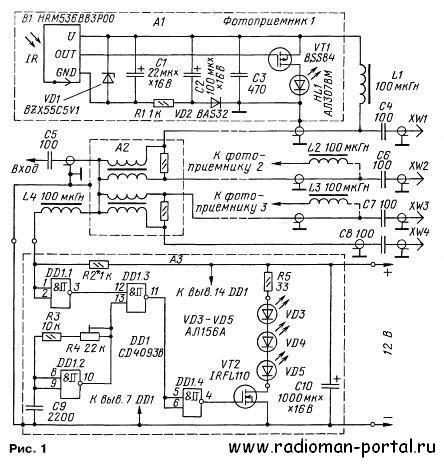 Ретранслятор ИК сигналов для